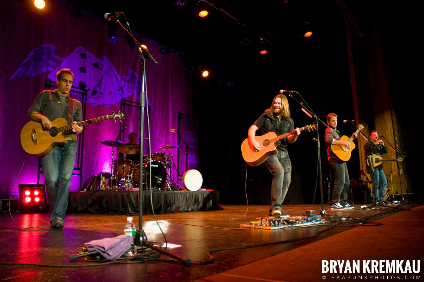 Great Big Sea @ Tarrytown Music Hall, Tarrytown, NY - 10.10.09 (8)