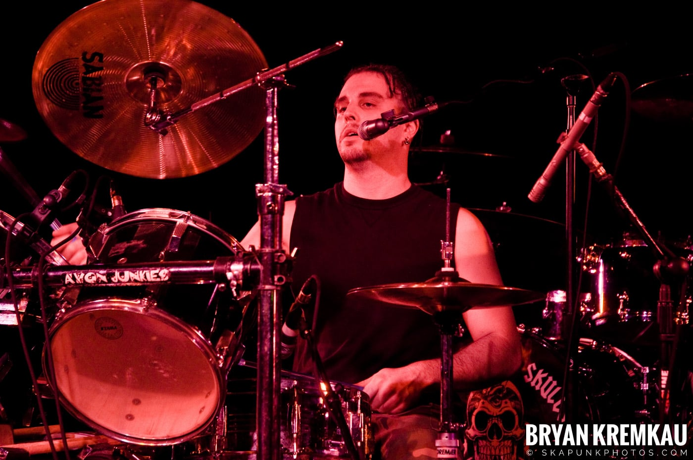 Avon Junkies (Ska is Dead Tour) @ Starland Ballroom, Sayreville, NJ - 11.15.09 (9)