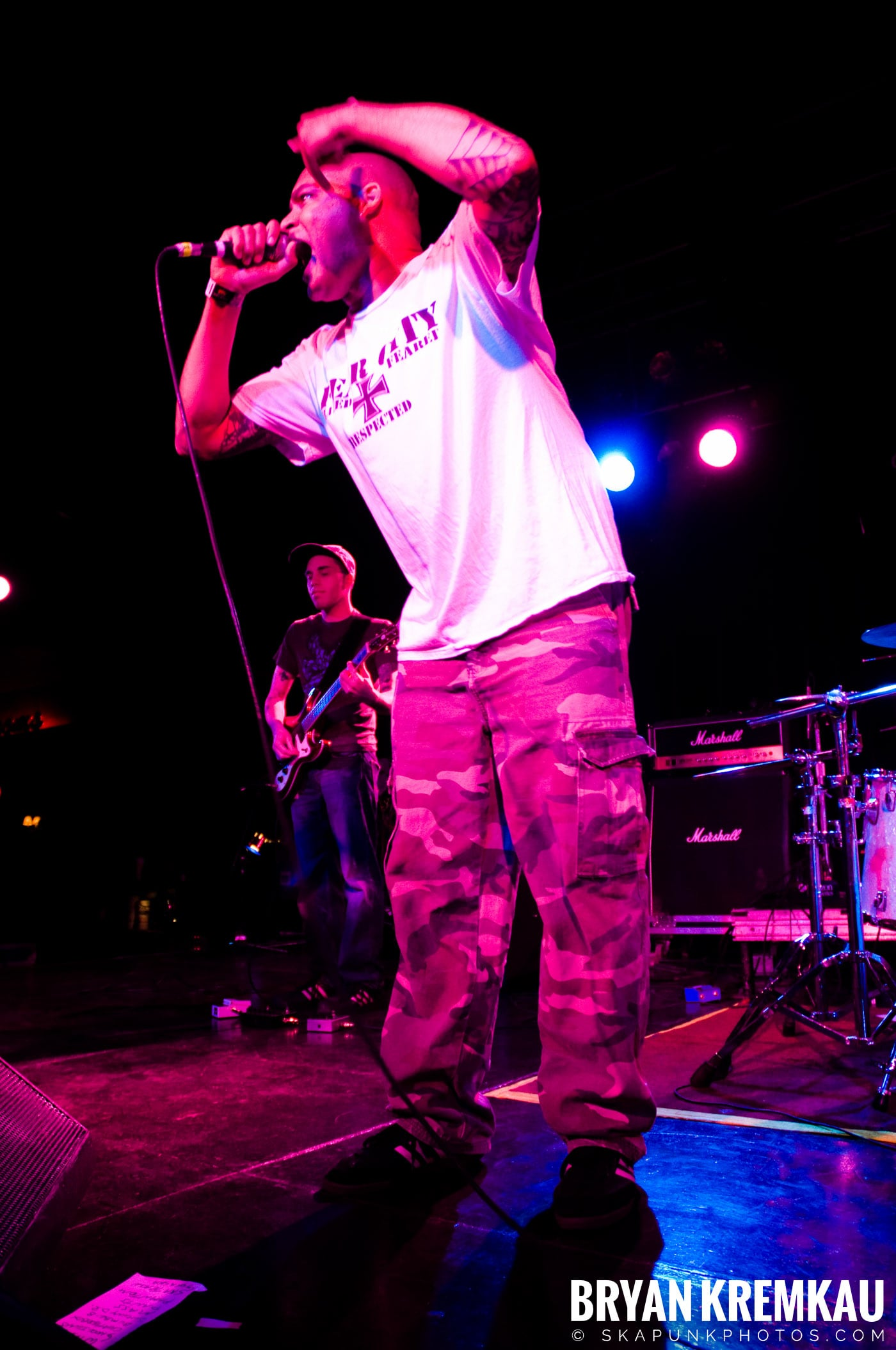 Hub City Stompers (Ska is Dead Tour) @ Starland Ballroom, Sayreville, NJ - 11.15.09 (4)