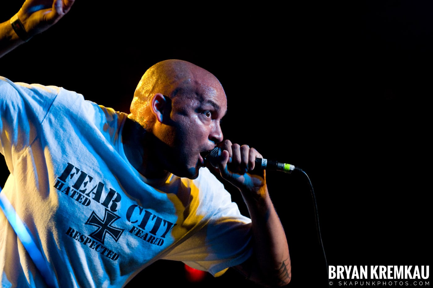 Hub City Stompers (Ska is Dead Tour) @ Starland Ballroom, Sayreville, NJ - 11.15.09 (2)