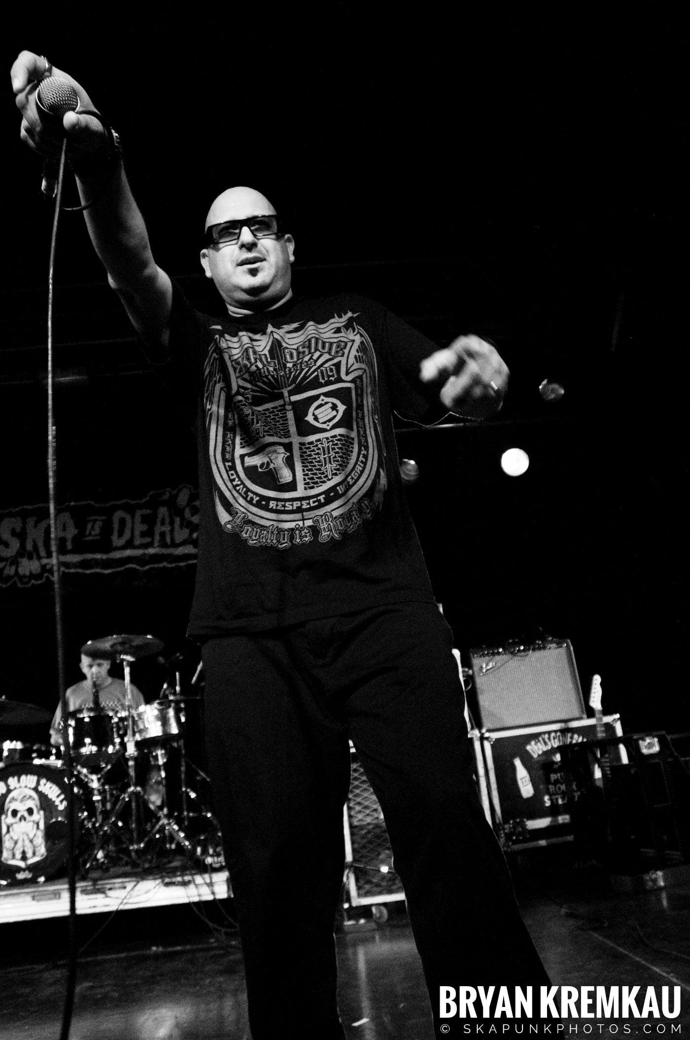Voodoo Glow Skulls (Ska is Dead Tour) @ Starland Ballroom, Sayreville, NJ - 11.15.09 (3)