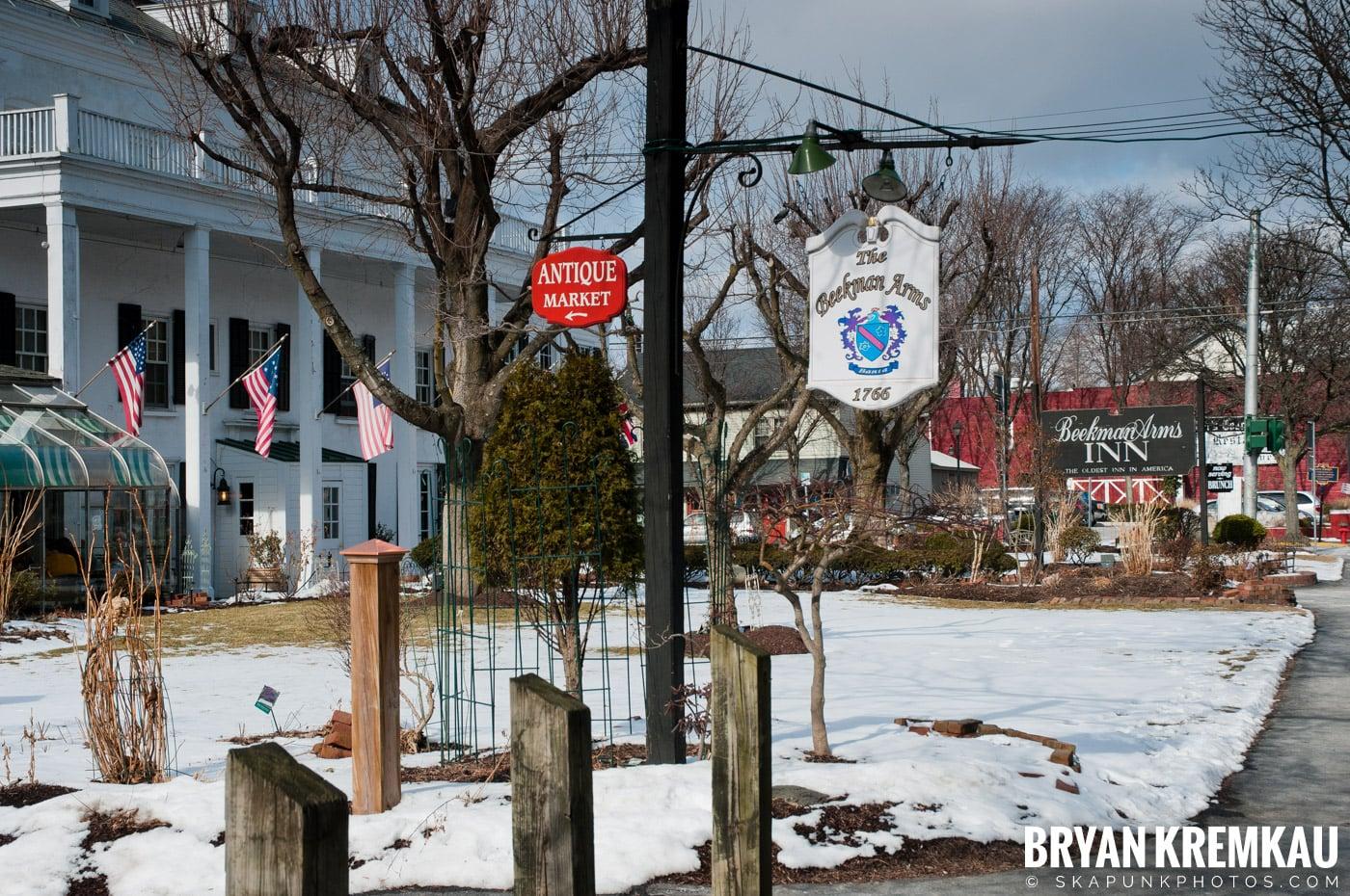 Valentine's Day Trip @ Rhinebeck, FDR's Home, Vanderbilt, Wilderstein Historic Site, NY - 2.14.10 (66)