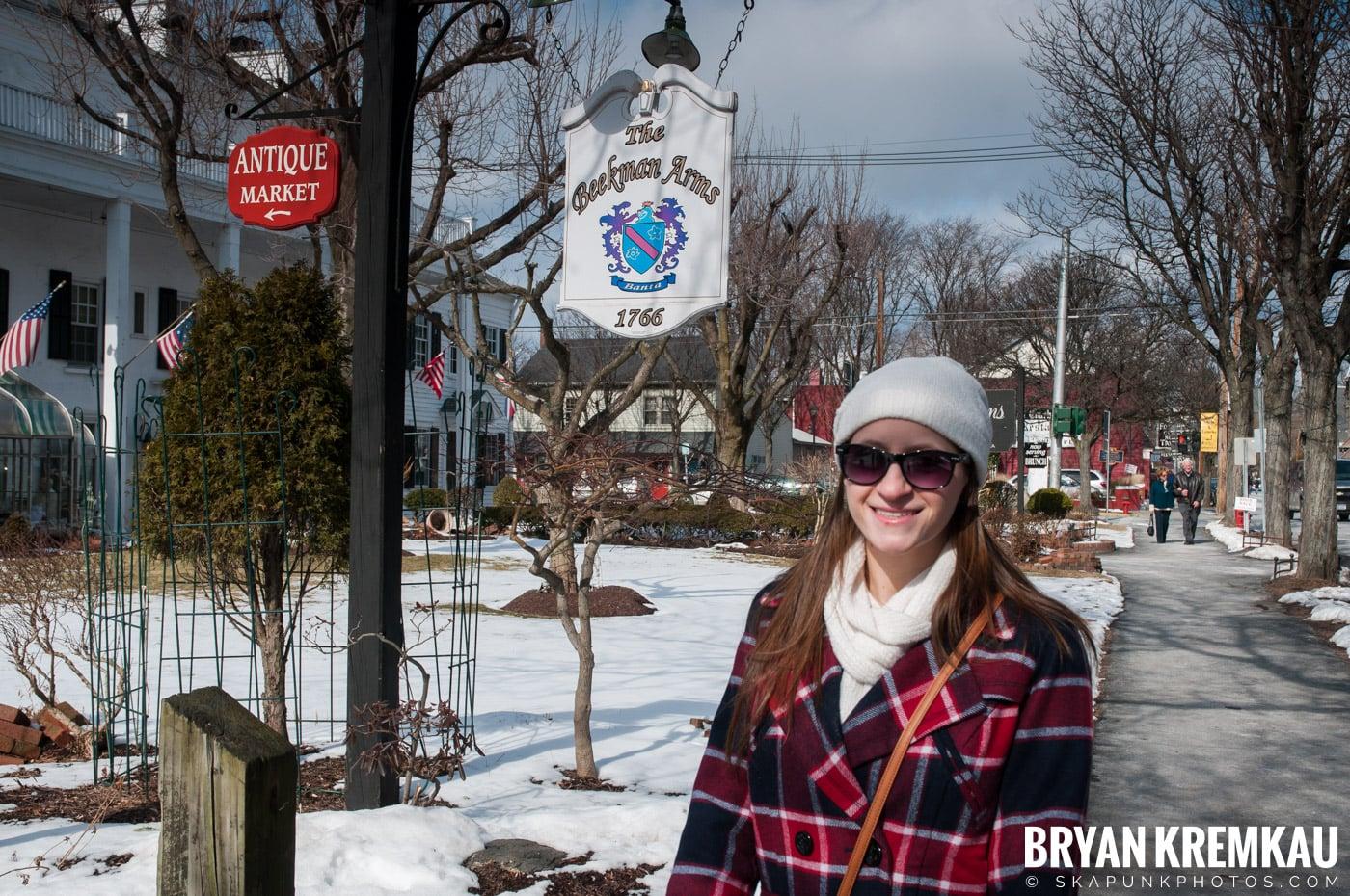 Valentine's Day Trip @ Rhinebeck, FDR's Home, Vanderbilt, Wilderstein Historic Site, NY - 2.14.10 (65)