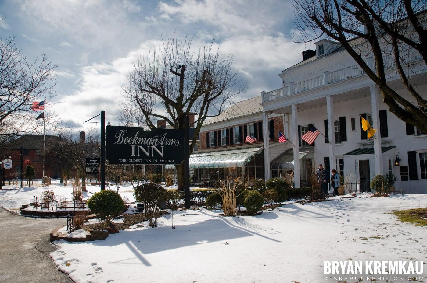 Valentine's Day Trip @ Rhinebeck, FDR's Home, Vanderbilt, Wilderstein Historic Site, NY - 2.14.10 (61)