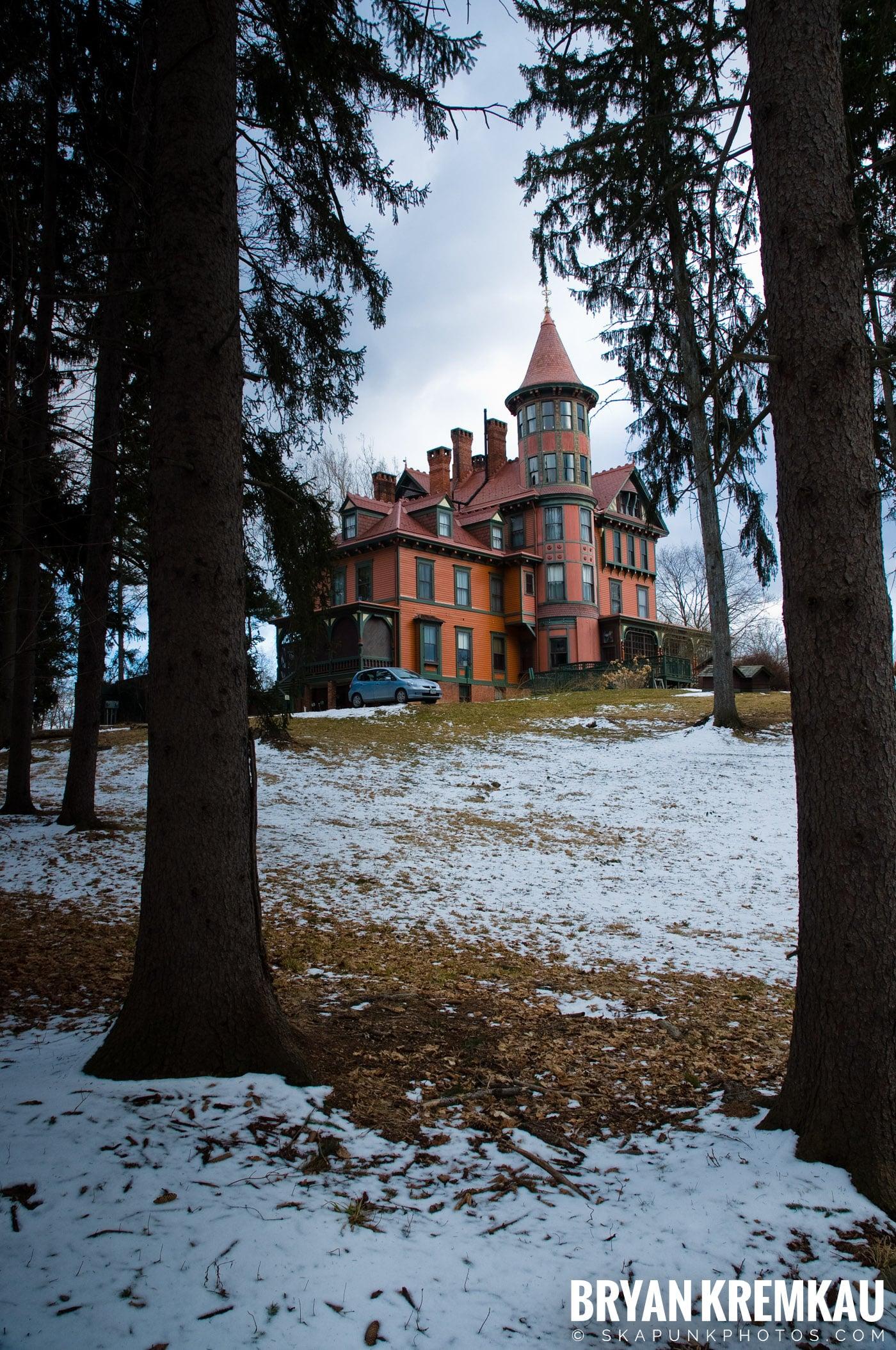 Valentine's Day Trip @ Rhinebeck, FDR's Home, Vanderbilt, Wilderstein Historic Site, NY - 2.14.10 (44)