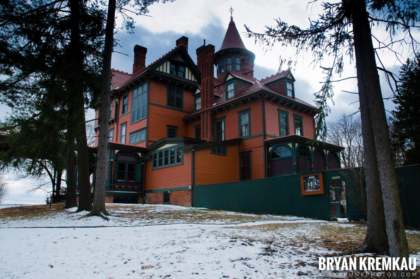 Valentine's Day Trip @ Rhinebeck, FDR's Home, Vanderbilt, Wilderstein Historic Site, NY - 2.14.10 (43)