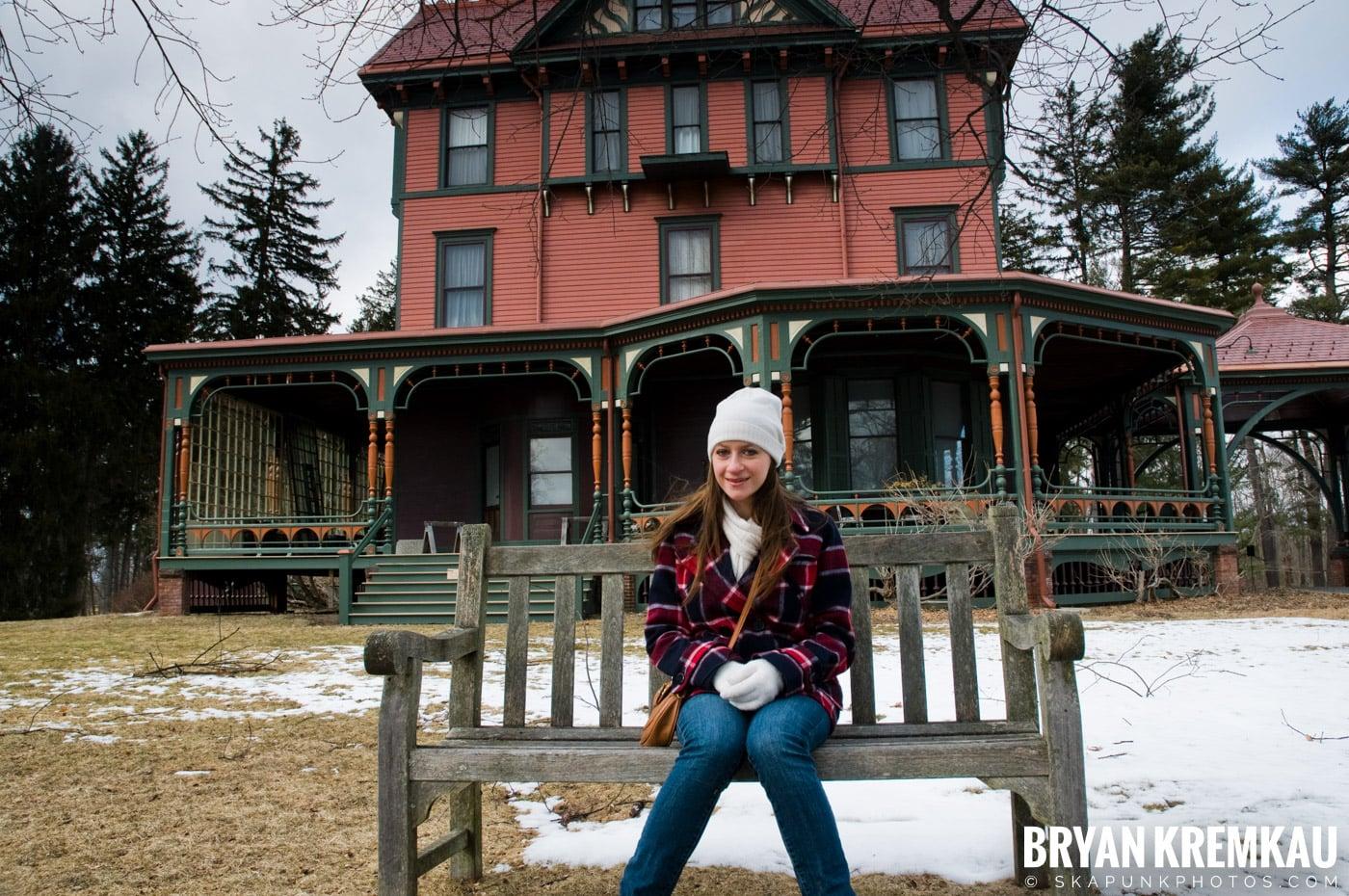 Valentine's Day Trip @ Rhinebeck, FDR's Home, Vanderbilt, Wilderstein Historic Site, NY - 2.14.10 (40)