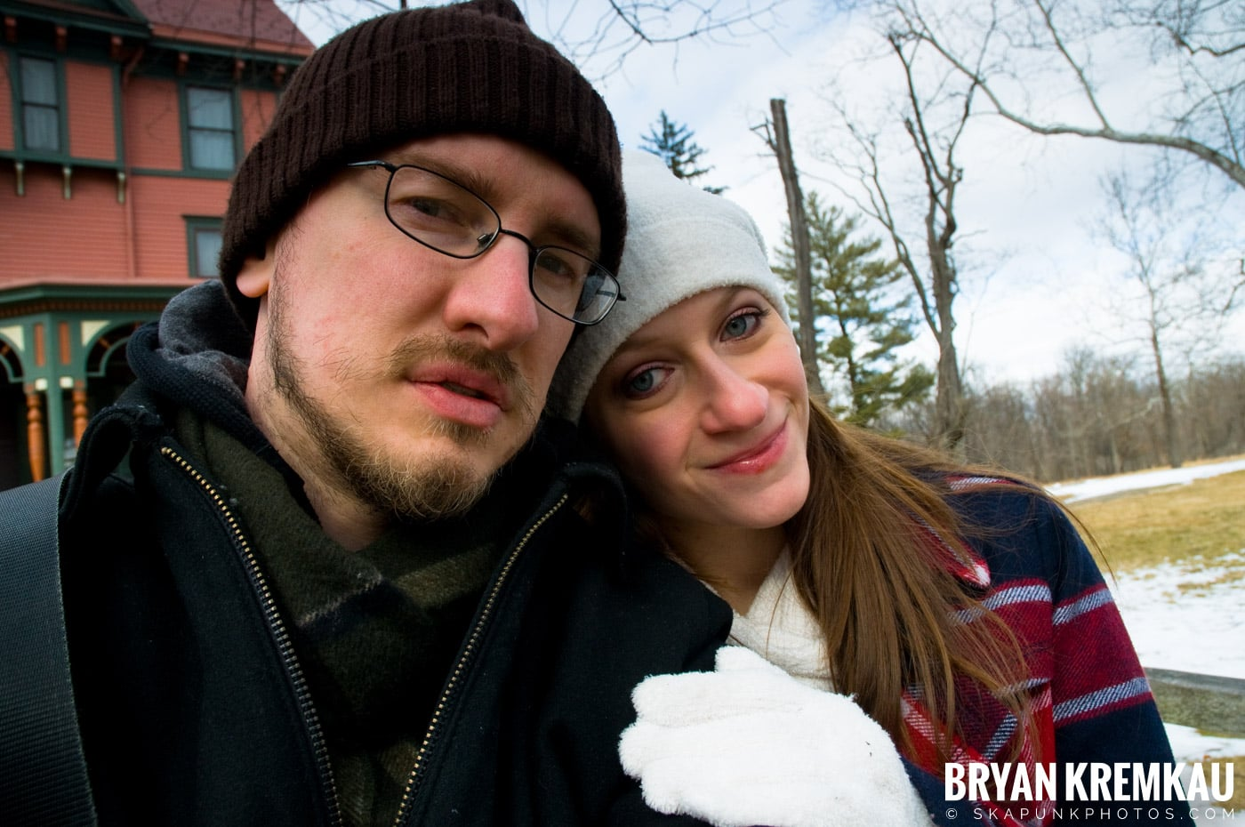Valentine's Day Trip @ Rhinebeck, FDR's Home, Vanderbilt, Wilderstein Historic Site, NY - 2.14.10 (39)