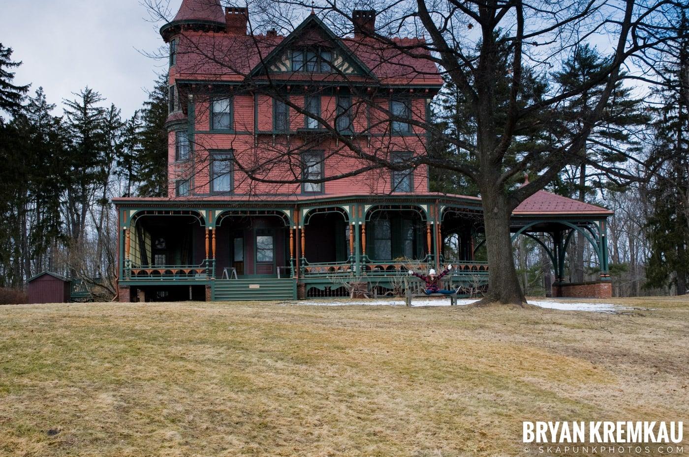Valentine's Day Trip @ Rhinebeck, FDR's Home, Vanderbilt, Wilderstein Historic Site, NY - 2.14.10 (38)