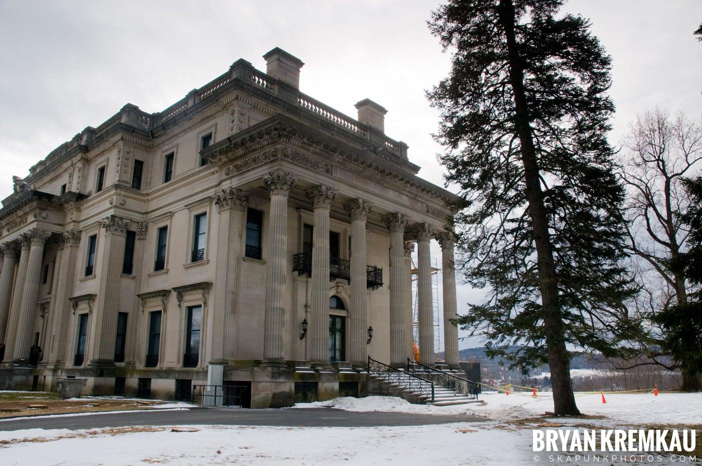 Valentine's Day Trip @ Rhinebeck, FDR's Home, Vanderbilt, Wilderstein Historic Site, NY - 2.14.10 (35)