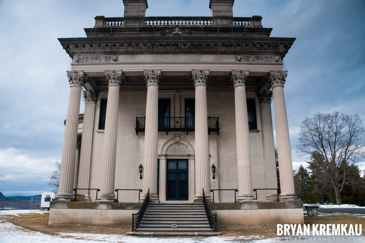Valentine's Day Trip @ Rhinebeck, FDR's Home, Vanderbilt, Wilderstein Historic Site, NY - 2.14.10 (29)