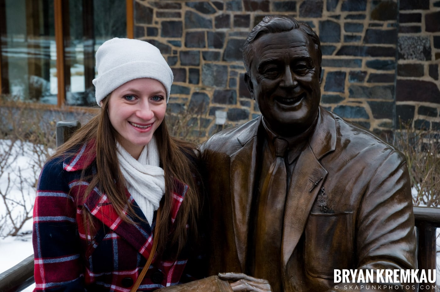 Valentine's Day Trip @ Rhinebeck, FDR's Home, Vanderbilt, Wilderstein Historic Site, NY - 2.14.10 (18)
