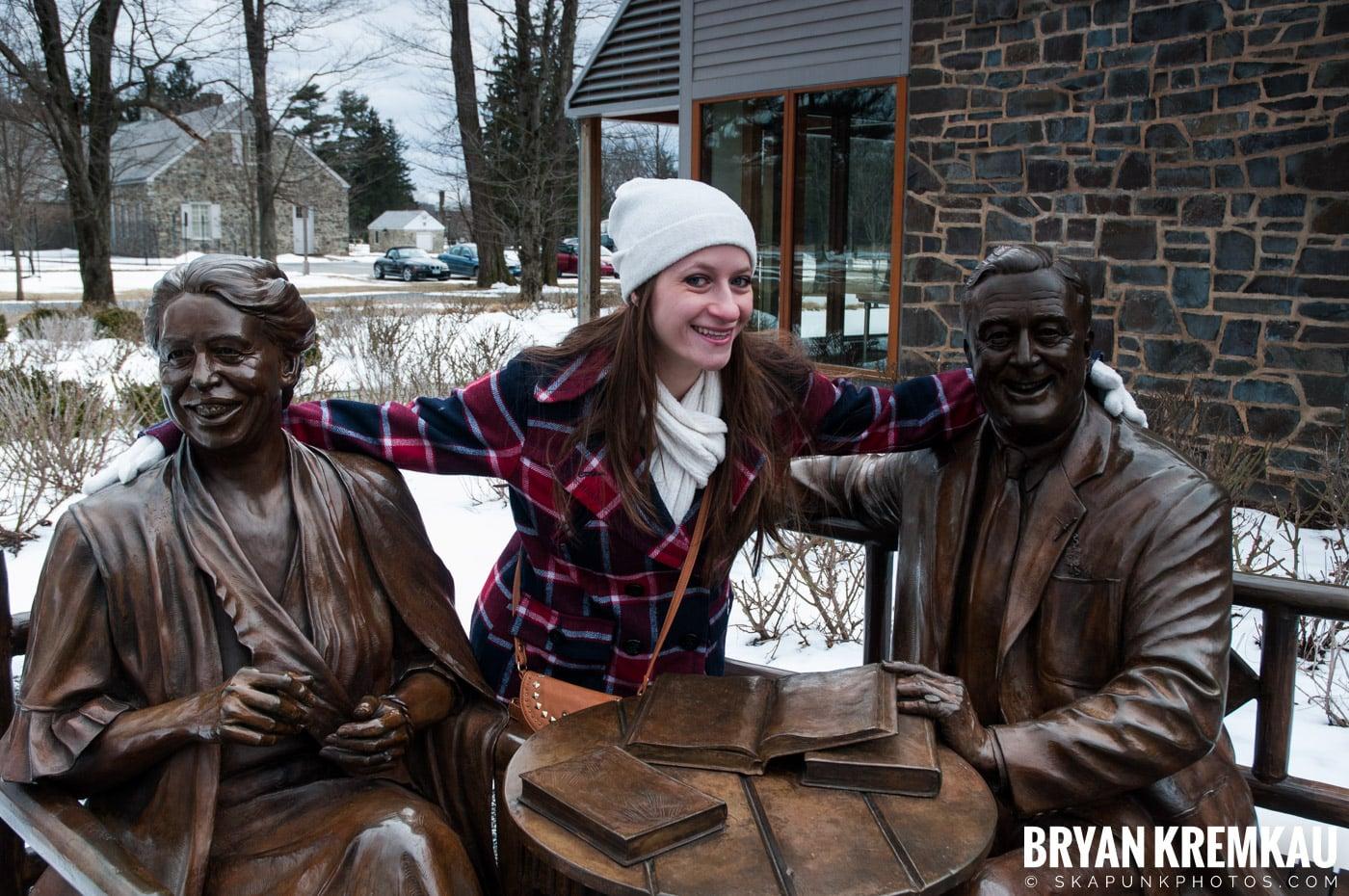 Valentine's Day Trip @ Rhinebeck, FDR's Home, Vanderbilt, Wilderstein Historic Site, NY - 2.14.10 (17)
