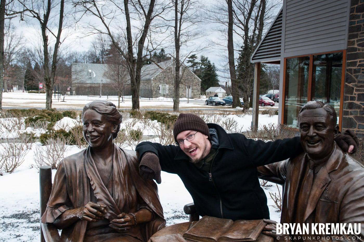 Valentine's Day Trip @ Rhinebeck, FDR's Home, Vanderbilt, Wilderstein Historic Site, NY - 2.14.10 (16)