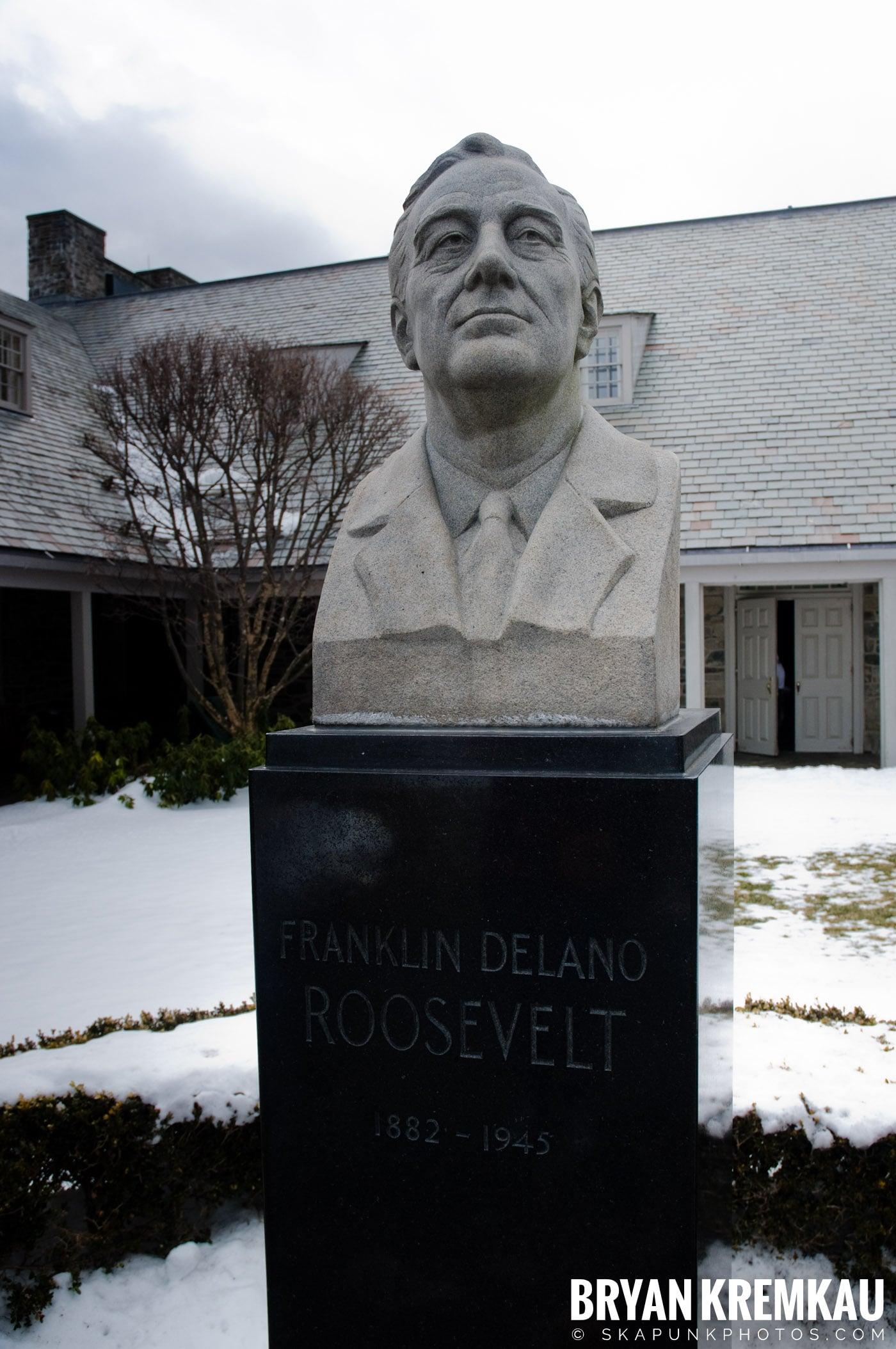 Valentine's Day Trip @ Rhinebeck, FDR's Home, Vanderbilt, Wilderstein Historic Site, NY - 2.14.10 (15)