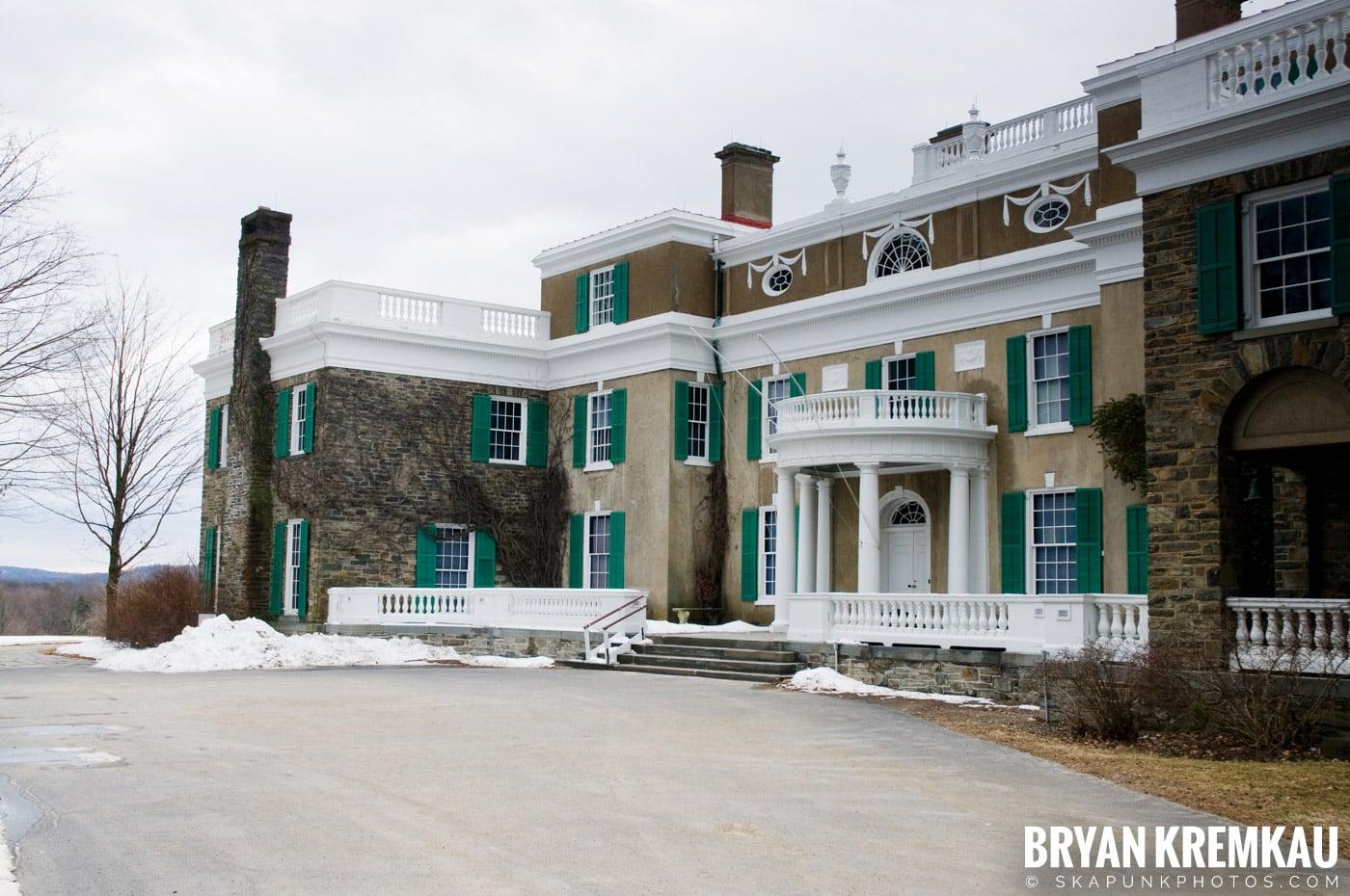 Valentine's Day Trip @ Rhinebeck, FDR's Home, Vanderbilt, Wilderstein Historic Site, NY - 2.14.10 (13)