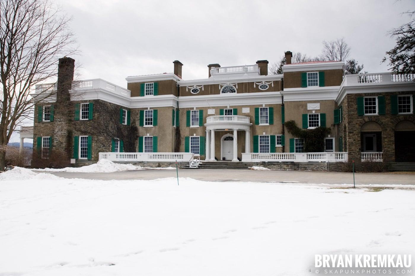 Valentine's Day Trip @ Rhinebeck, FDR's Home, Vanderbilt, Wilderstein Historic Site, NY - 2.14.10 (12)