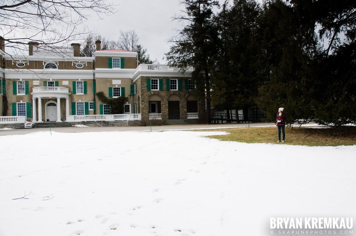 Valentine's Day Trip @ Rhinebeck, FDR's Home, Vanderbilt, Wilderstein Historic Site, NY - 2.14.10 (11)