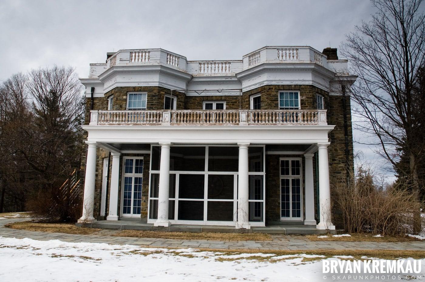 Valentine's Day Trip @ Rhinebeck, FDR's Home, Vanderbilt, Wilderstein Historic Site, NY - 2.14.10 (10)