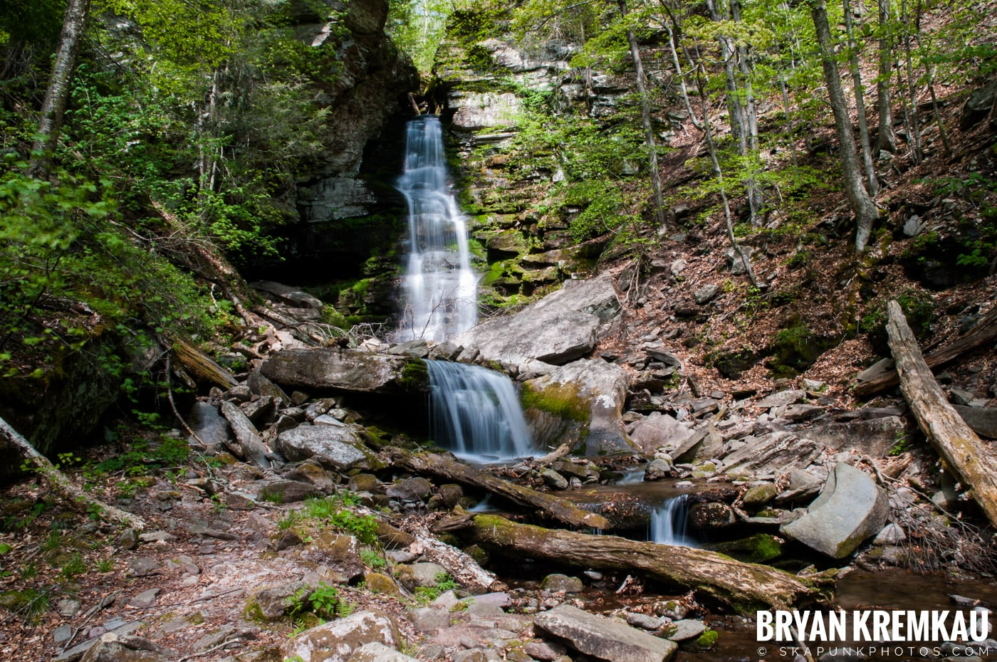 Getting Engaged @ Peekamoose Waterfall, Sundown NY - 5.1.10 (28)