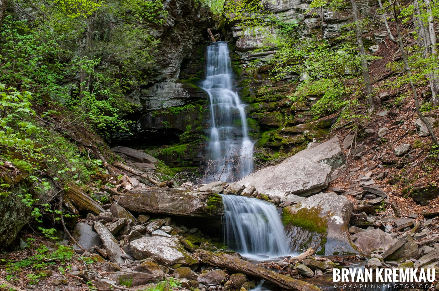 Getting Engaged @ Peekamoose Waterfall, Sundown NY - 5.1.10 (24)