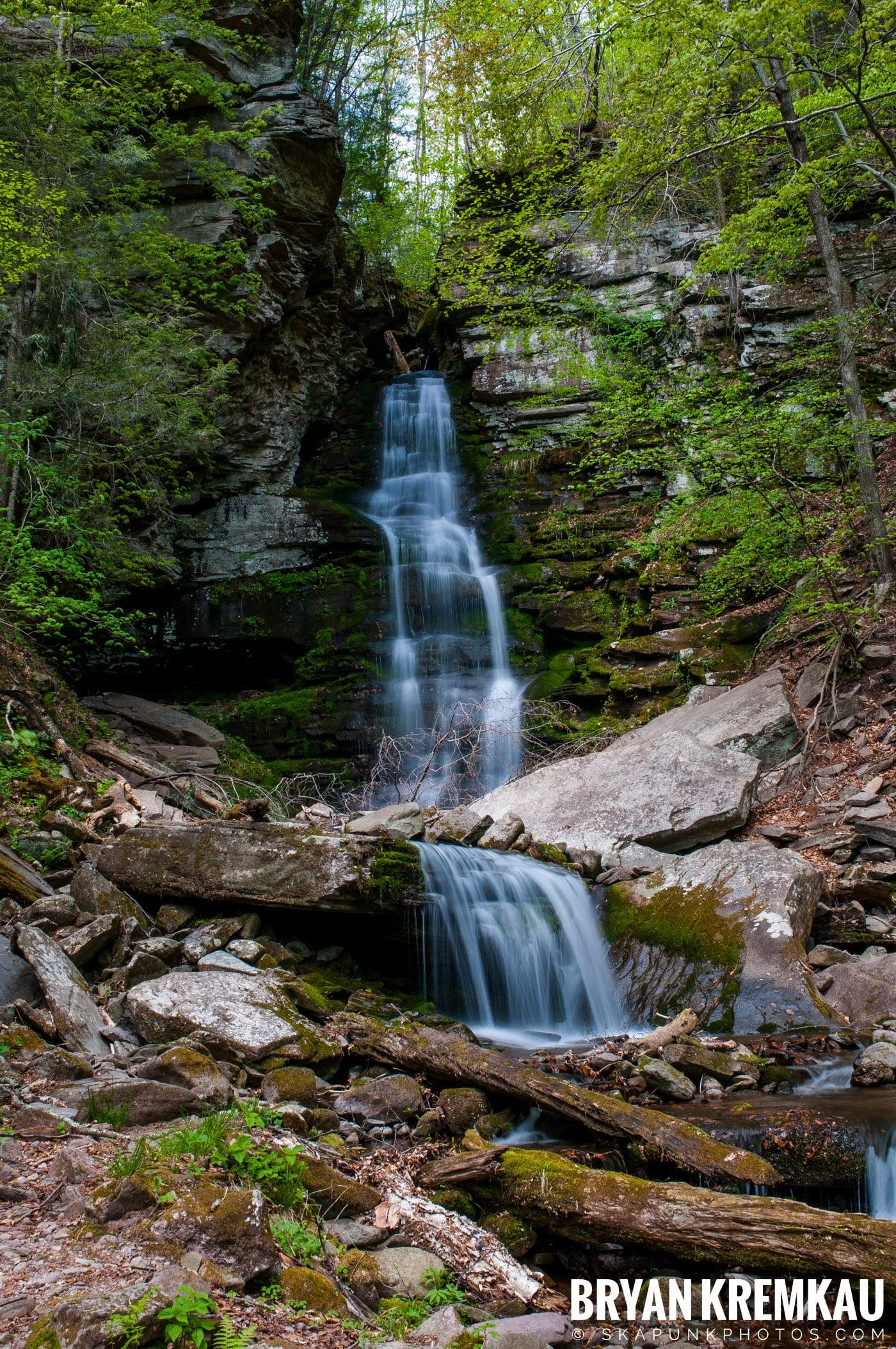 Getting Engaged @ Peekamoose Waterfall, Sundown NY - 5.1.10 (23)