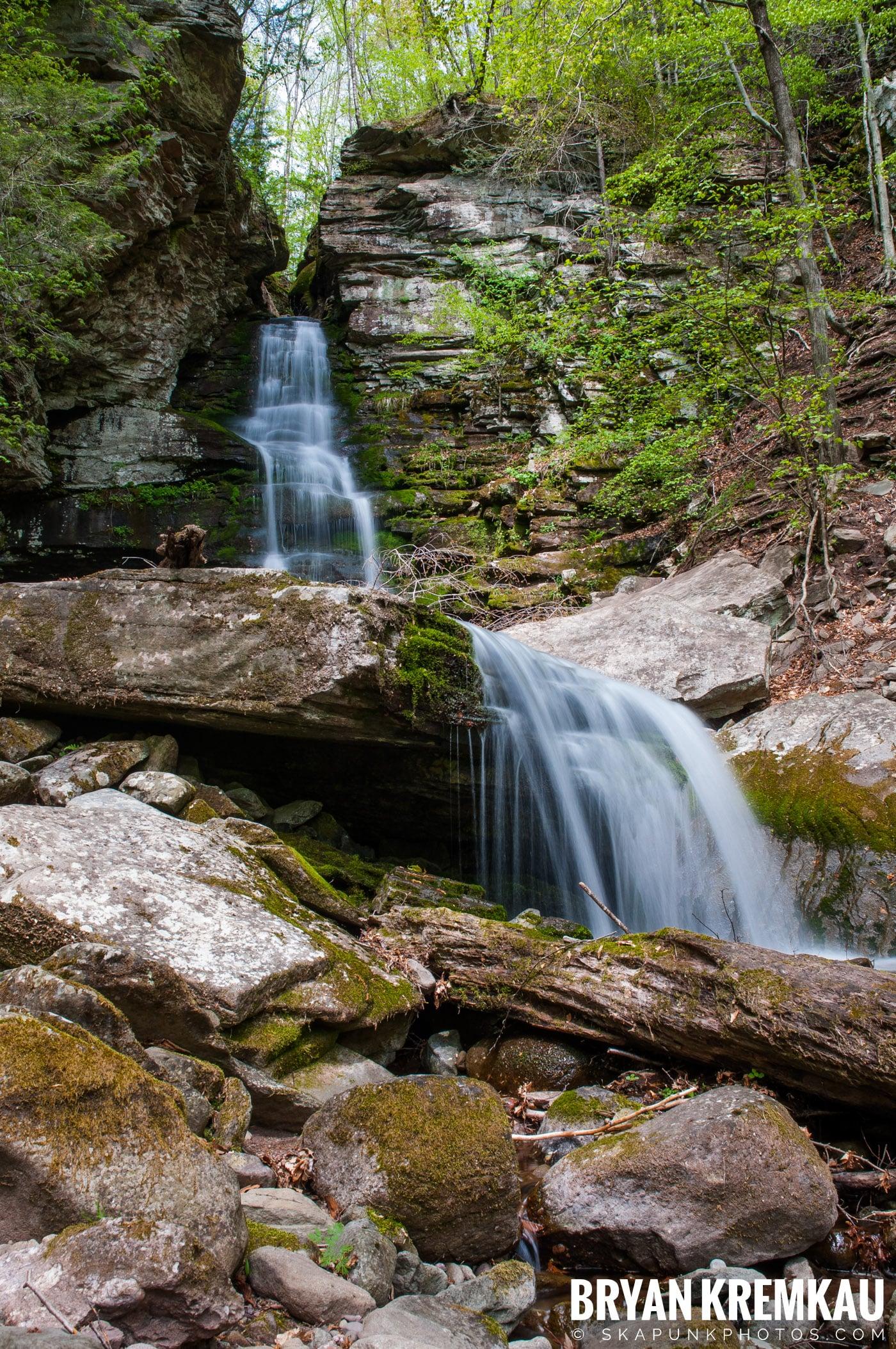 Getting Engaged @ Peekamoose Waterfall, Sundown NY - 5.1.10 (22)