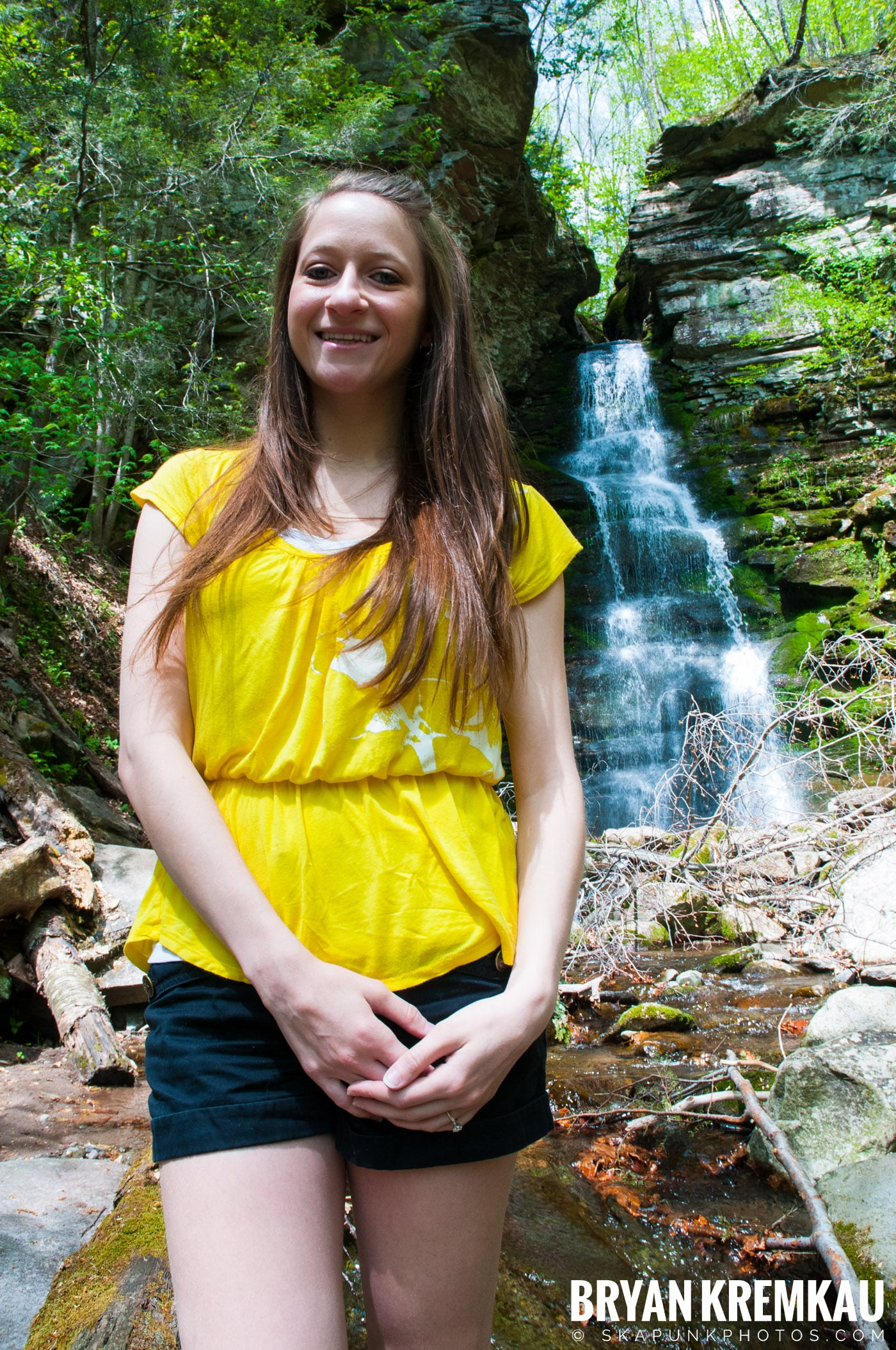 Getting Engaged @ Peekamoose Waterfall, Sundown NY - 5.1.10 (19)