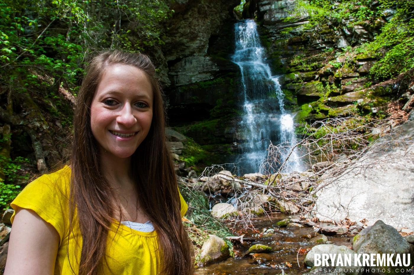 Getting Engaged @ Peekamoose Waterfall, Sundown NY - 5.1.10 (18)