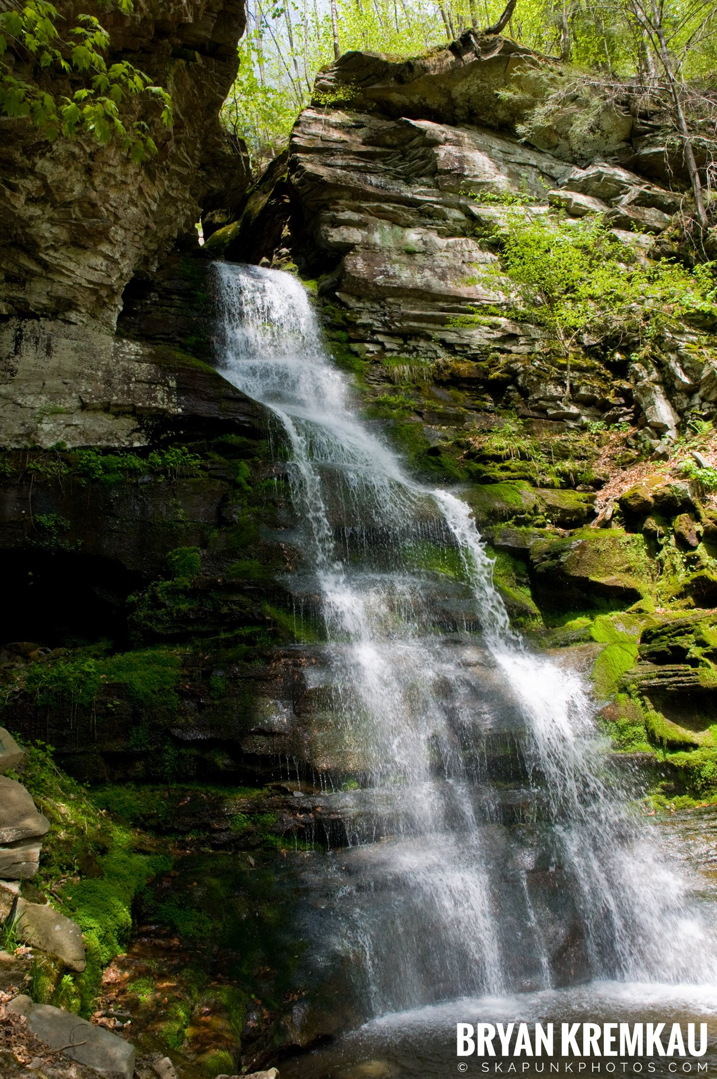 Getting Engaged @ Peekamoose Waterfall, Sundown NY - 5.1.10 (15)