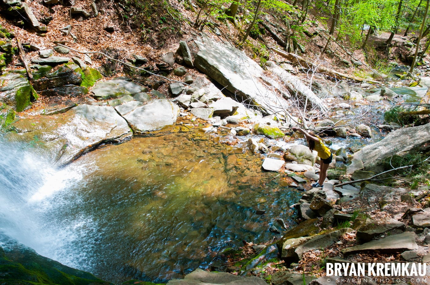 Getting Engaged @ Peekamoose Waterfall, Sundown NY - 5.1.10 (14)