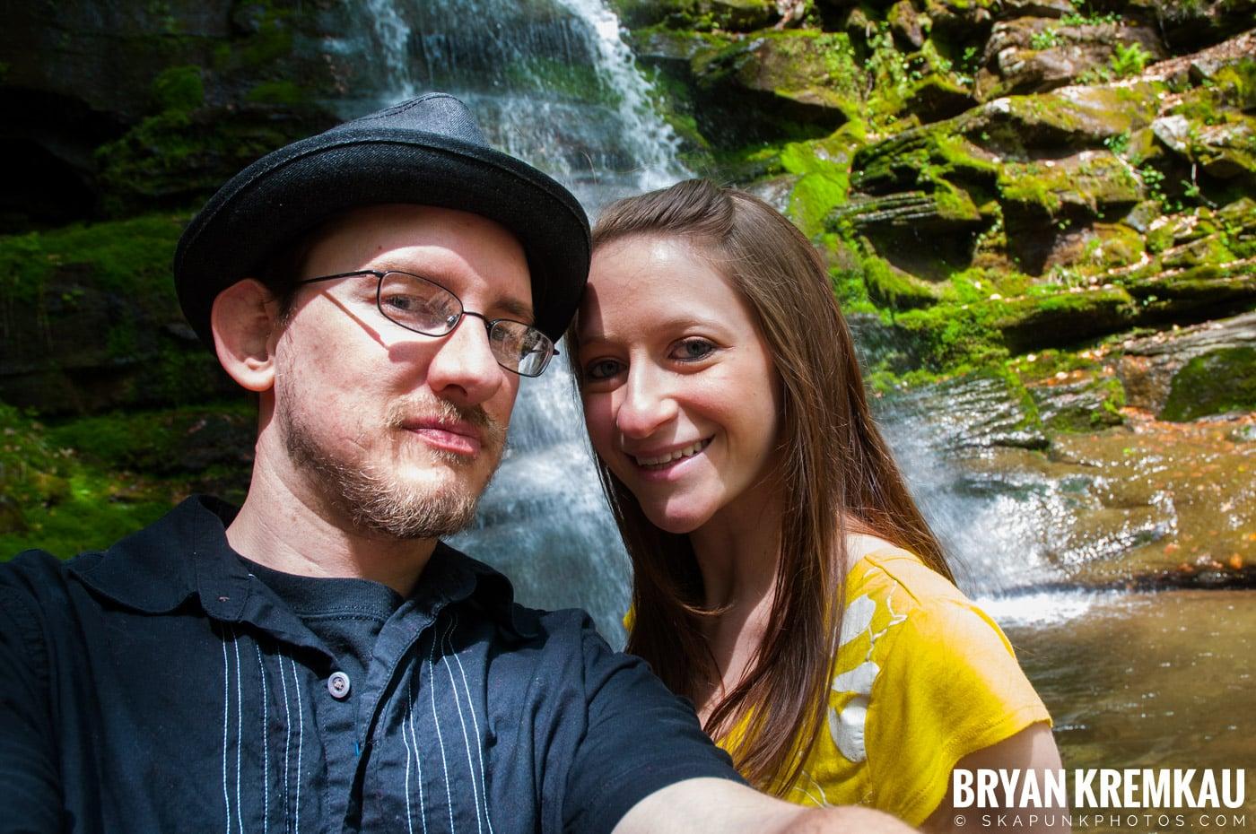 Getting Engaged @ Peekamoose Waterfall, Sundown NY - 5.1.10 (12)