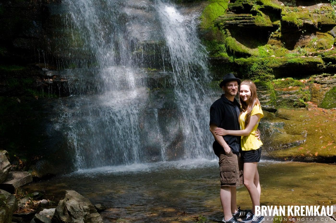Getting Engaged @ Peekamoose Waterfall, Sundown NY - 5.1.10 (9)