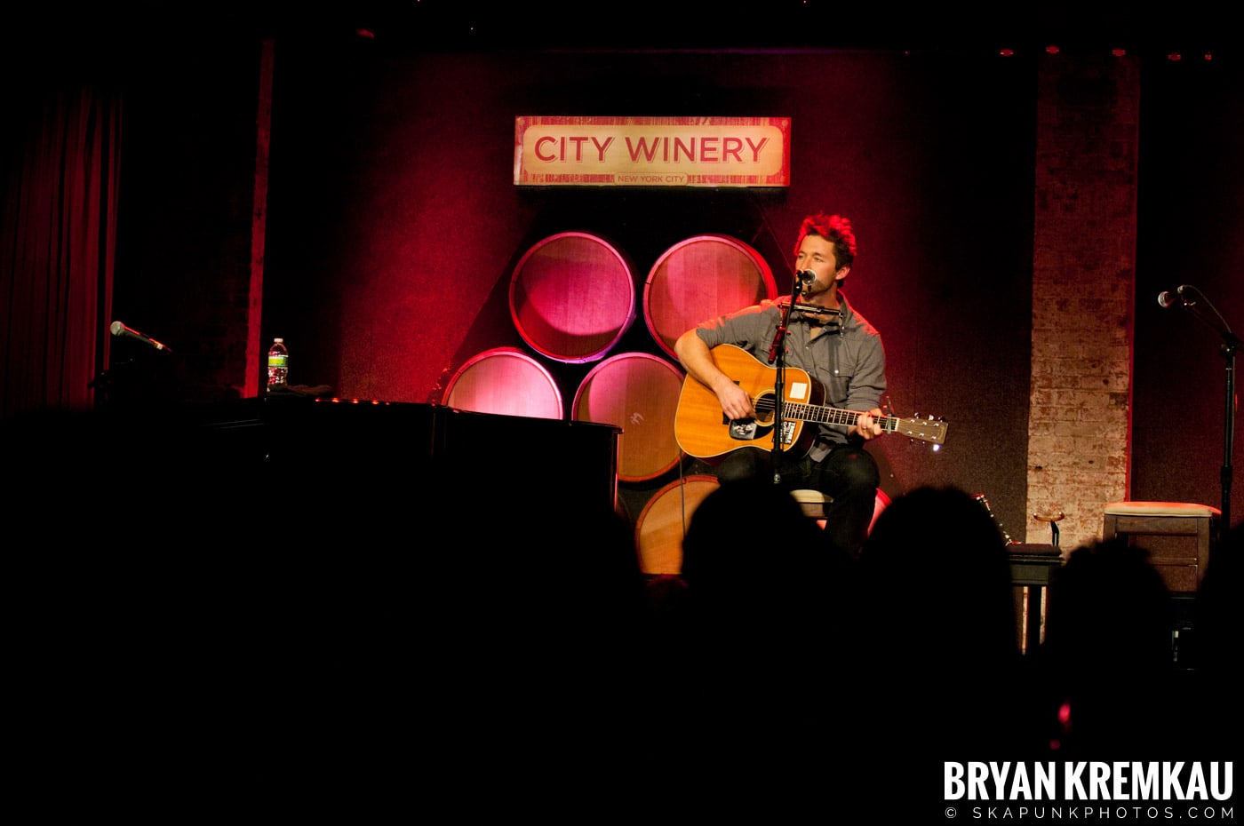 Griffin House & Charlie Mars @ City Winery, NYC - 2.20.11 (7)