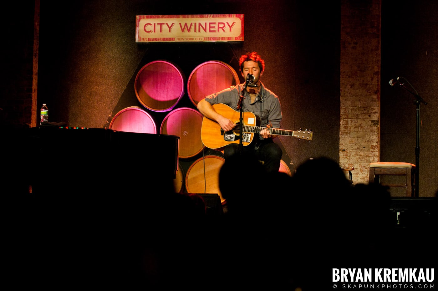 Griffin House & Charlie Mars @ City Winery, NYC - 2.20.11 (3)