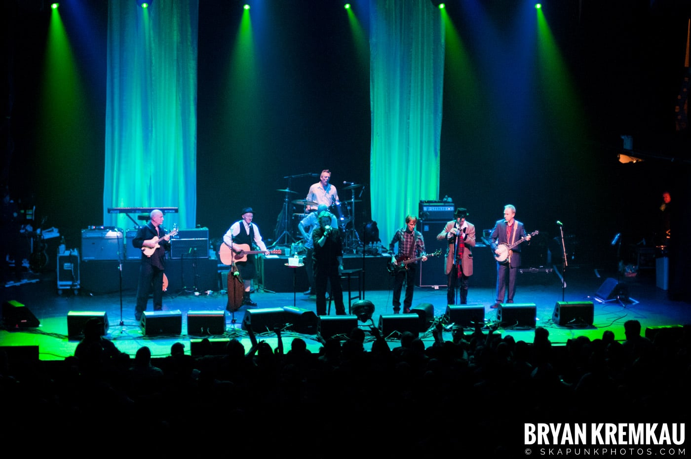 The Pogues @ Terminal 5, NYC - 3-15-2011 (1)