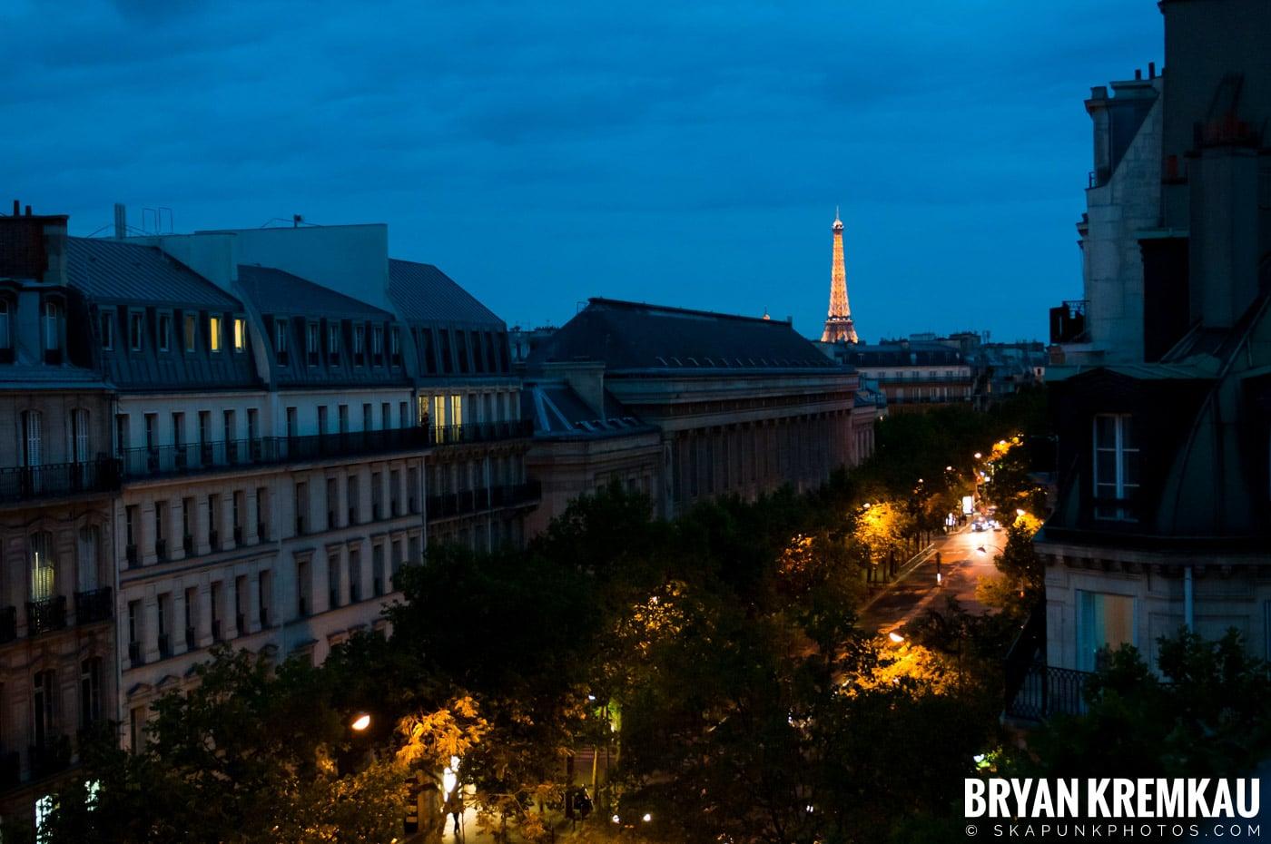 Paris, France Honeymoon - Day 1 - 7.18.11 (1)