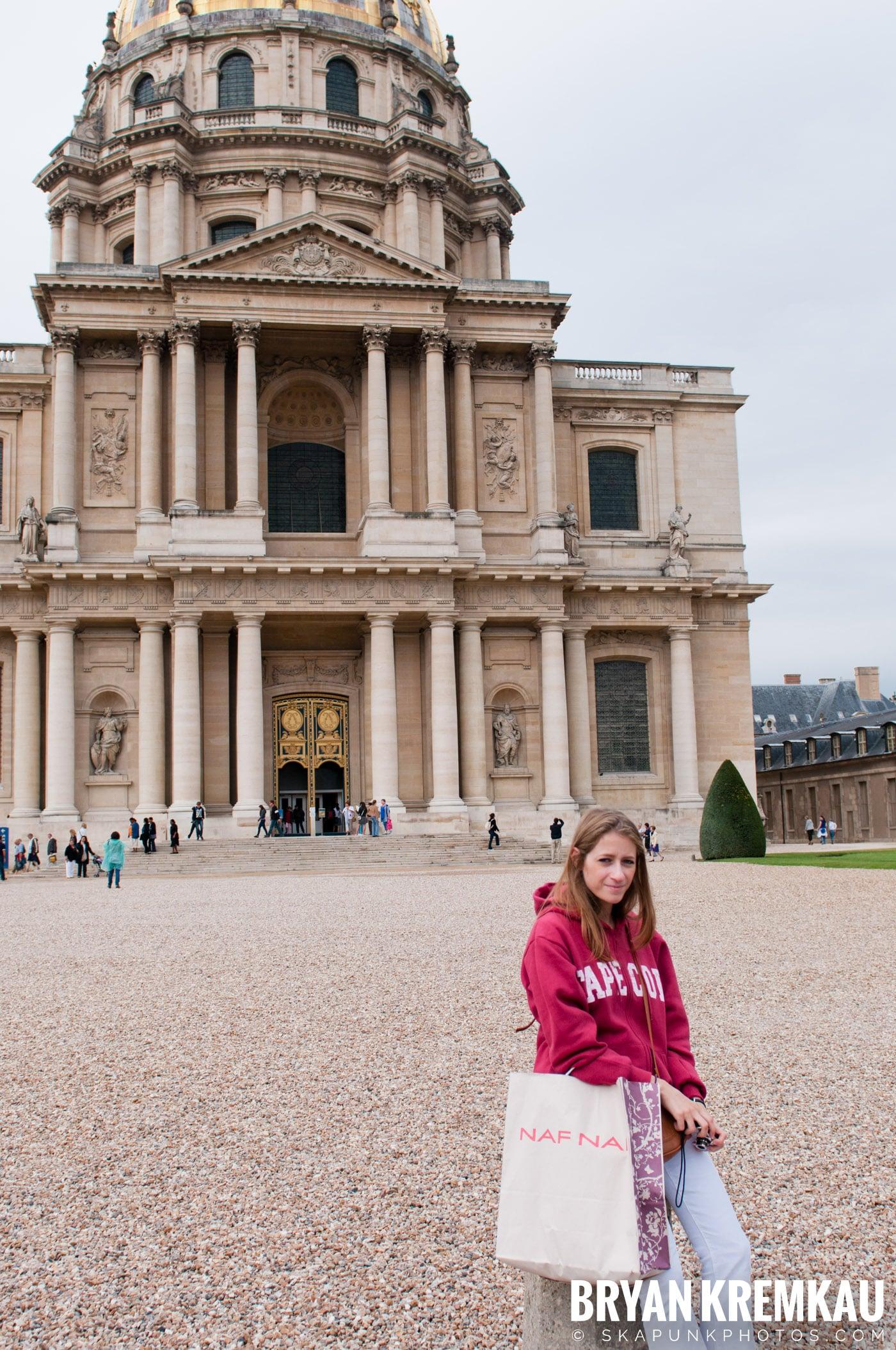Paris, France Honeymoon - Day 3 - 7.20.11 (14)