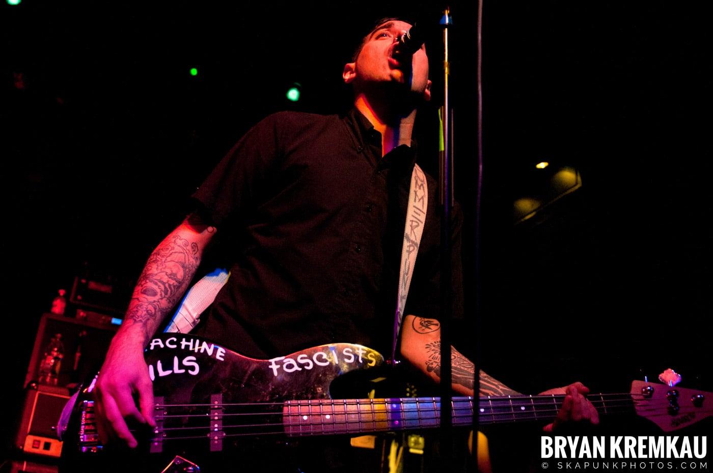 Anti-Flag @ Irving Plaza, NYC - 10.8.11 (15)