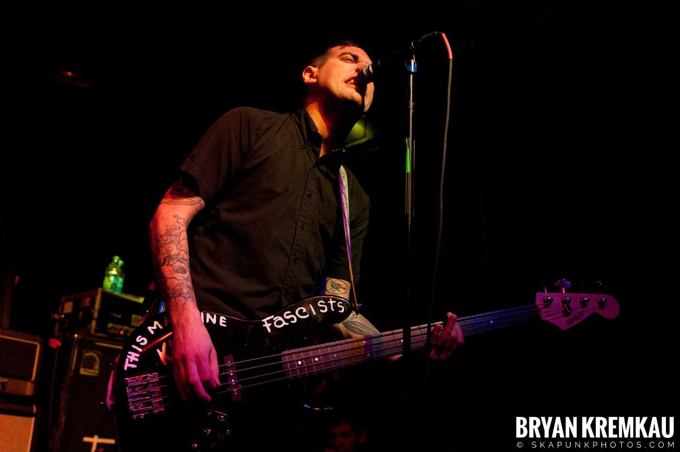 Anti-Flag @ Irving Plaza, NYC - 10.8.11 (12)