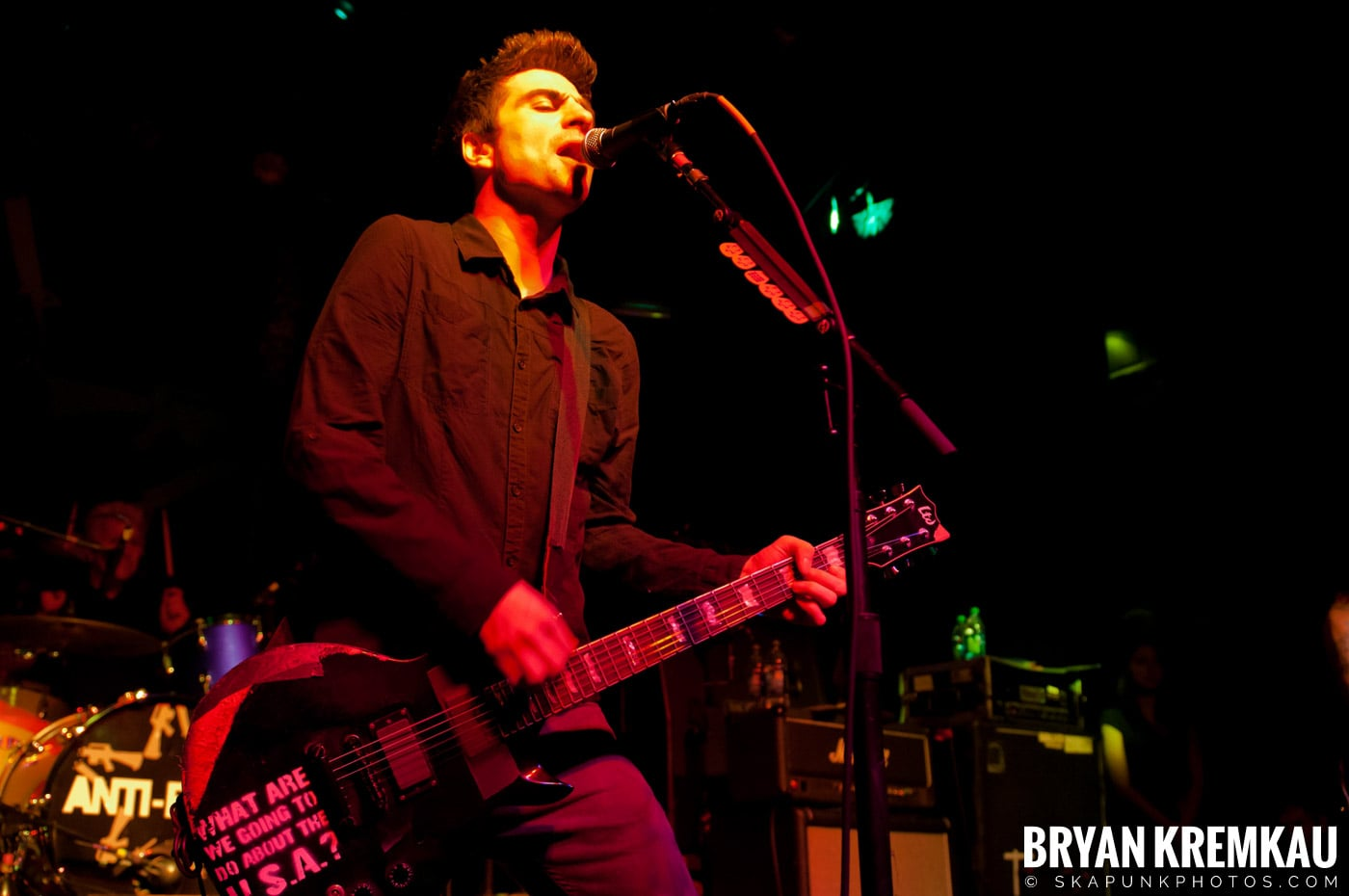 Anti-Flag @ Irving Plaza, NYC - 10.8.11 (10)