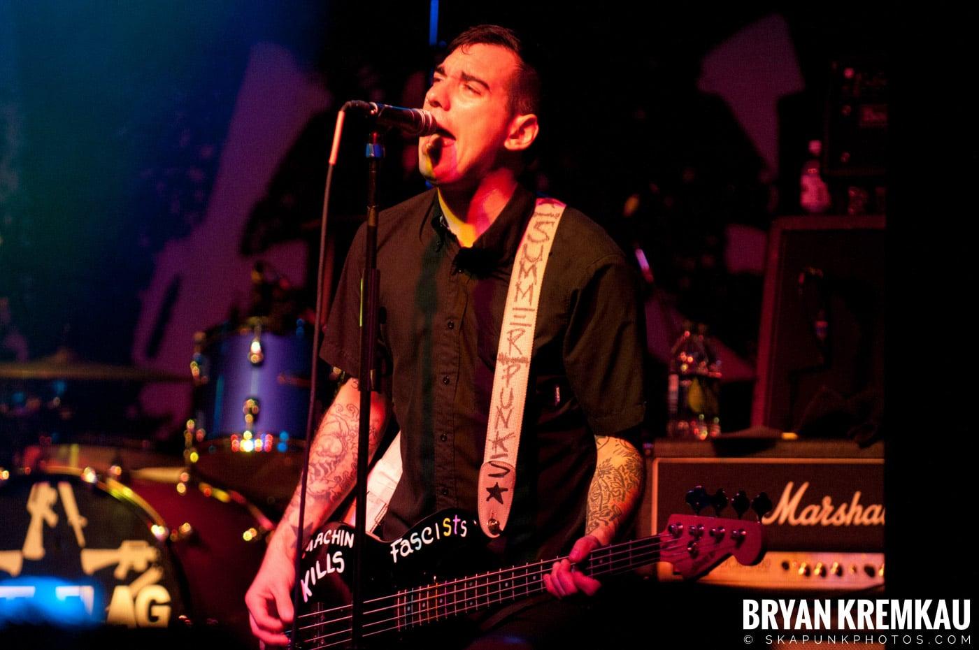 Anti-Flag @ Irving Plaza, NYC - 10.8.11 (3)