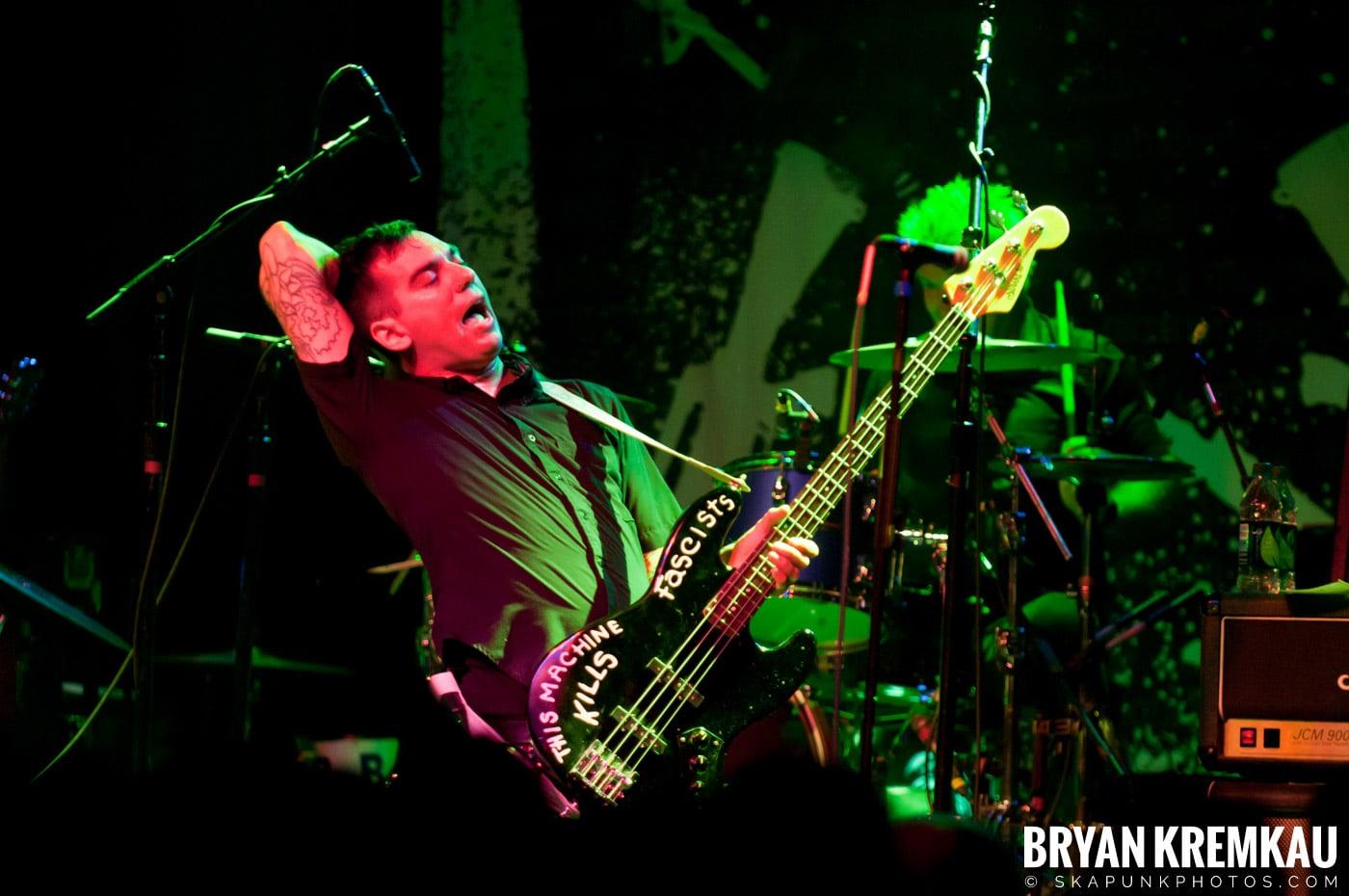 Anti-Flag @ Irving Plaza, NYC - 10.8.11 (1)