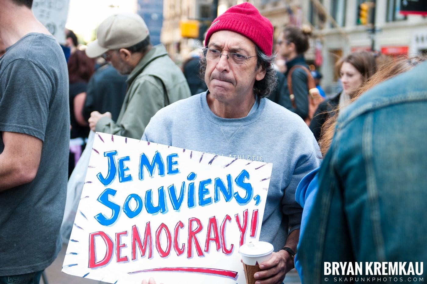 Occupy Wall Street @ Zuccotti Park and Washington Square Park, NYC - 10.15.11 (125)