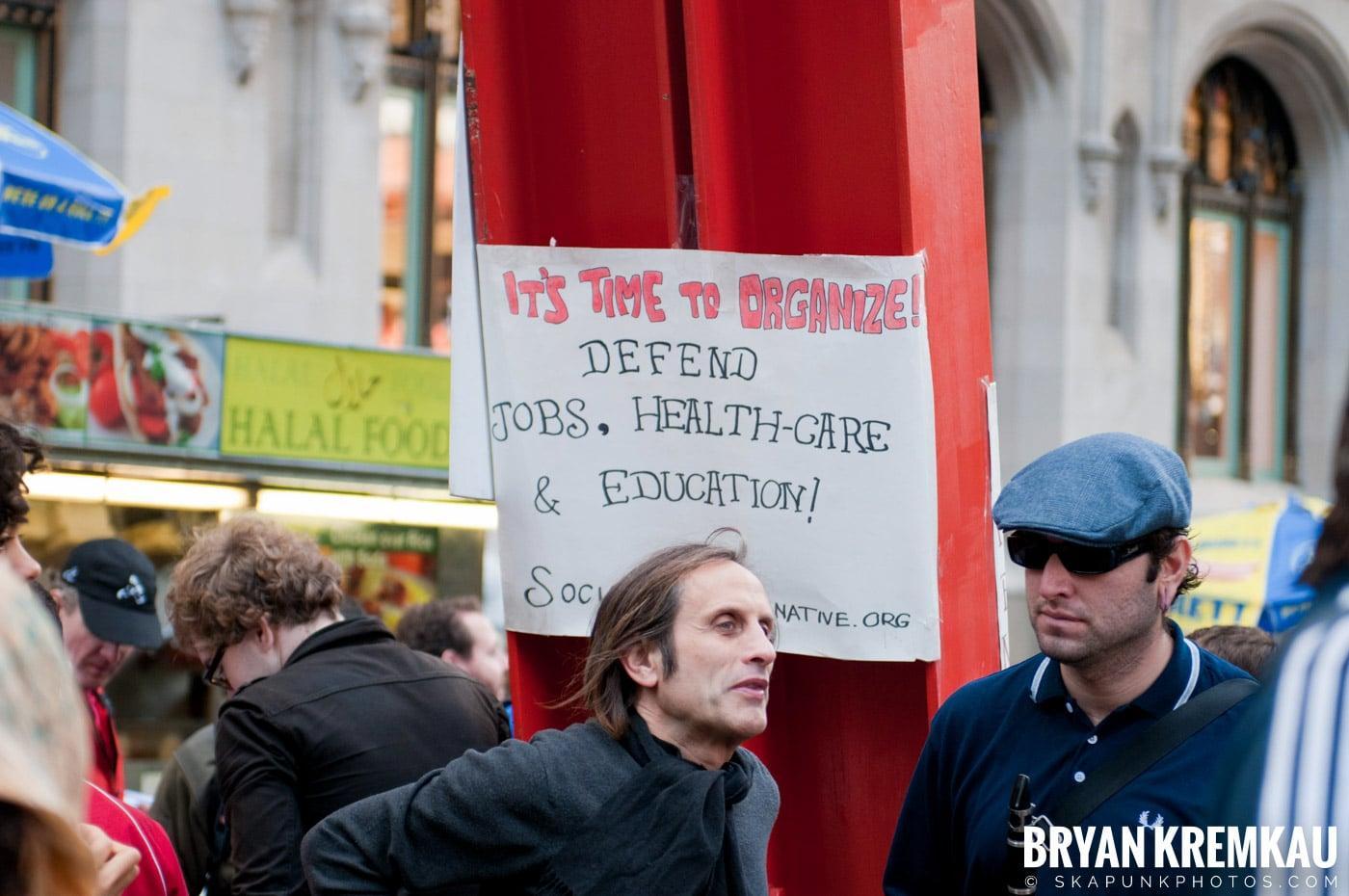 Occupy Wall Street @ Zuccotti Park and Washington Square Park, NYC - 10.15.11 (124)