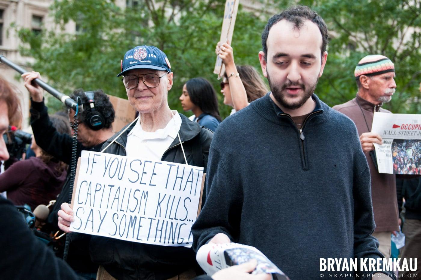 Occupy Wall Street @ Zuccotti Park and Washington Square Park, NYC - 10.15.11 (121)