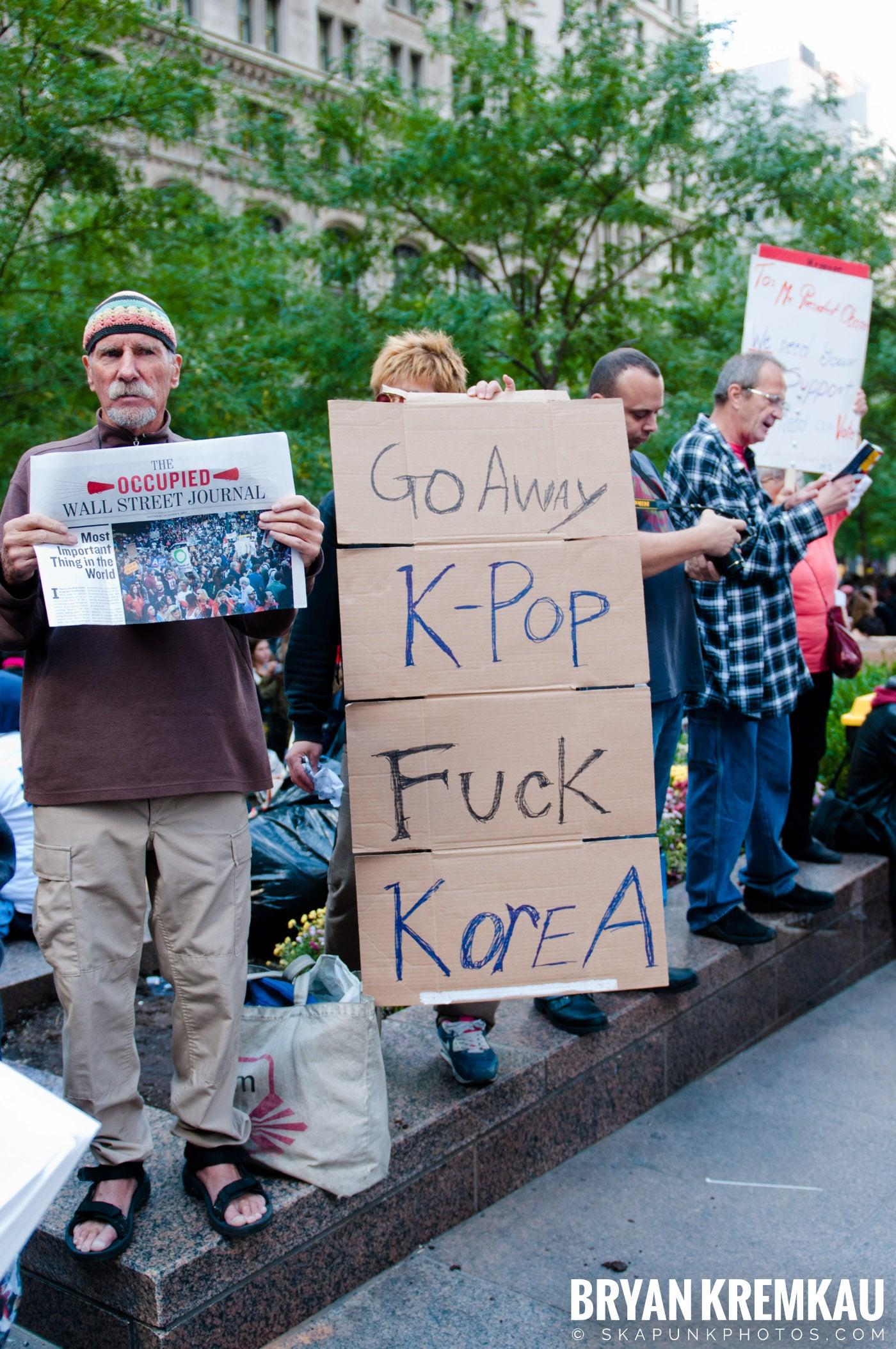 Occupy Wall Street @ Zuccotti Park and Washington Square Park, NYC - 10.15.11 (120)