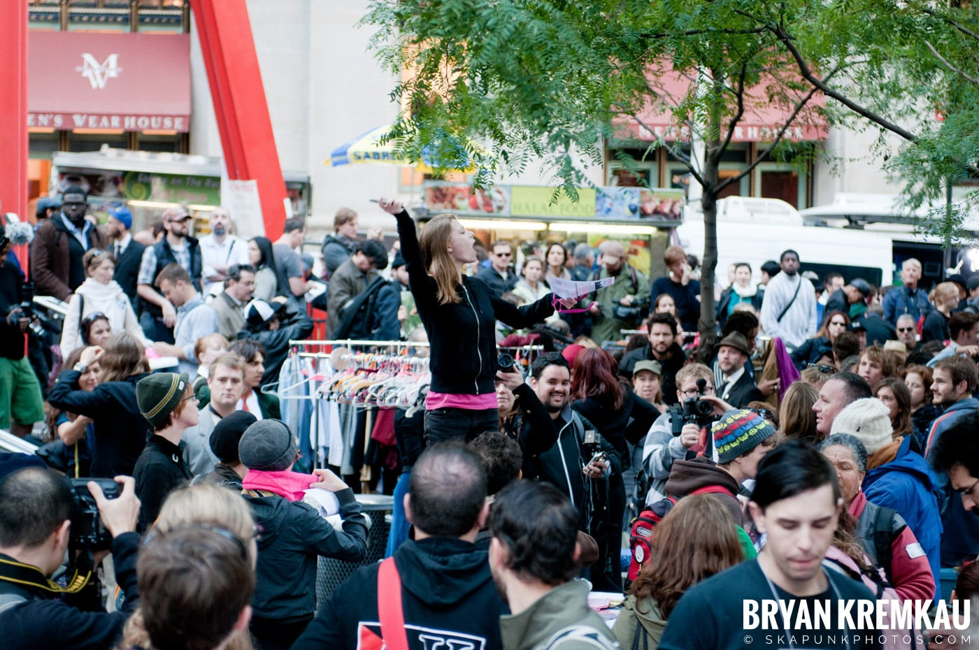 Occupy Wall Street @ Zuccotti Park and Washington Square Park, NYC - 10.15.11 (119)