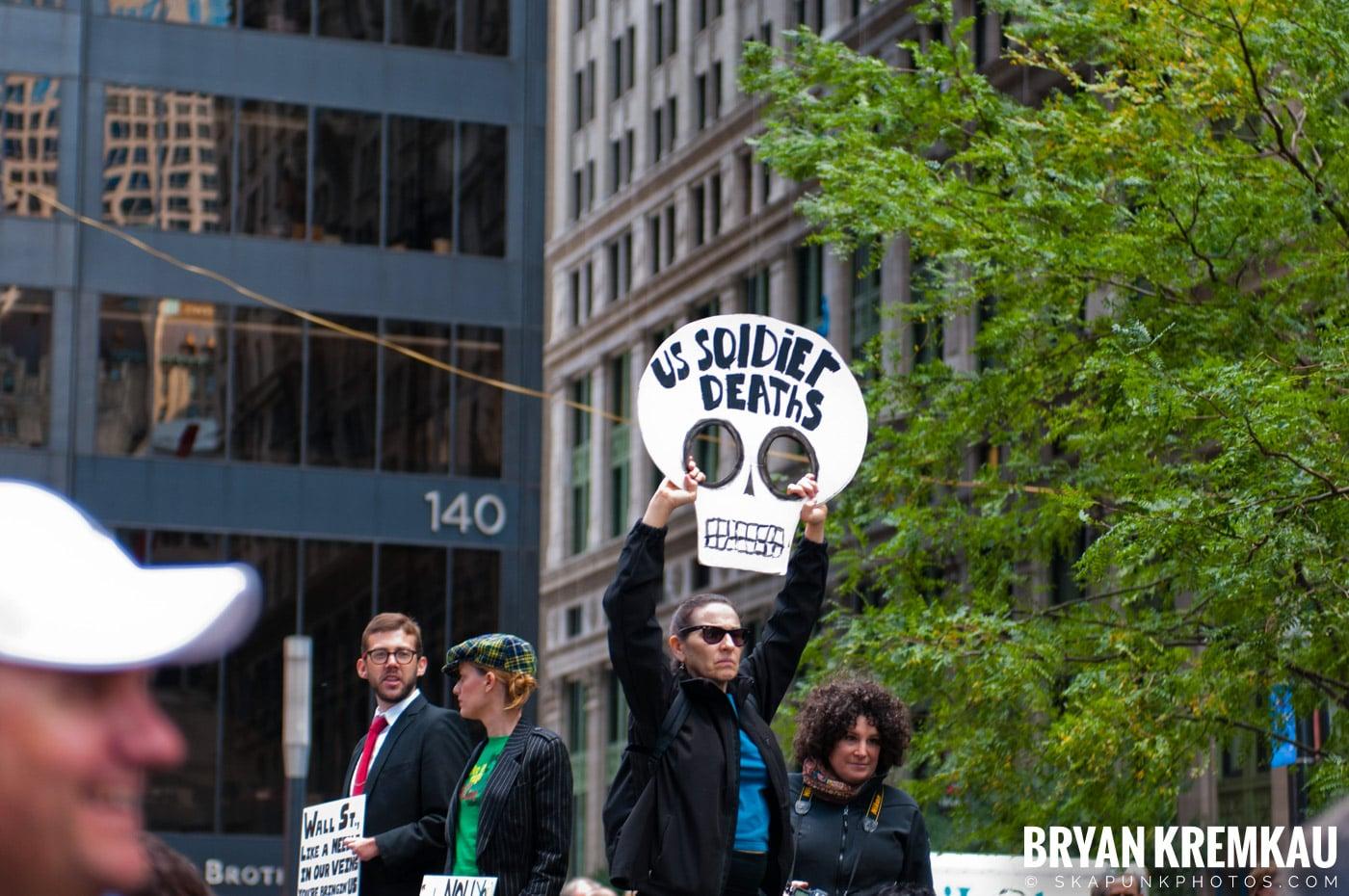 Occupy Wall Street @ Zuccotti Park and Washington Square Park, NYC - 10.15.11 (118)