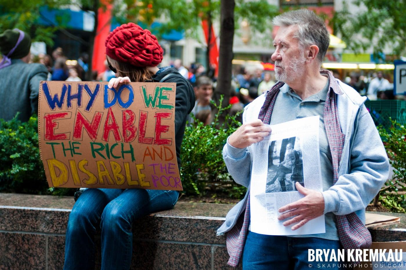 Occupy Wall Street @ Zuccotti Park and Washington Square Park, NYC - 10.15.11 (117)